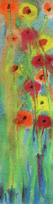 Painting - Rare Floral by R Kyllo