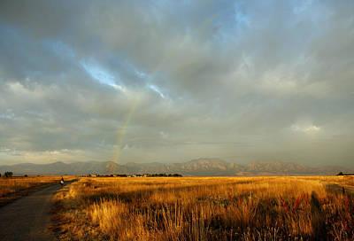Photograph - rare Morning Rainbow by Marilyn Hunt