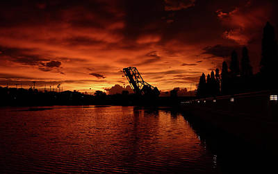 Photograph - Rare Night On The Hillsborough by David Lee Thompson