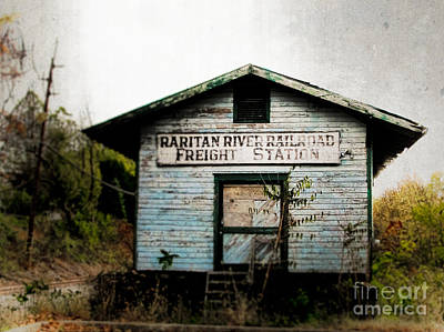 Photograph - Raritan River Freight Station by Colleen Kammerer