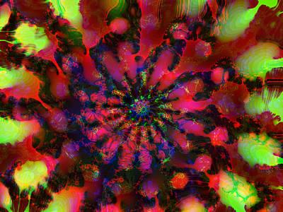 Digital Art - Raspberry Lime by Max DeBeeson