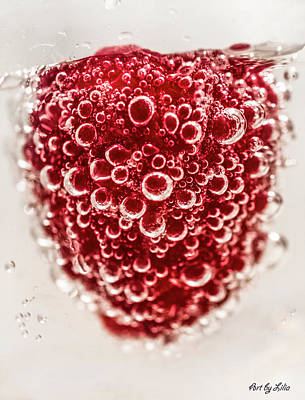 Photograph - Raspberry Love by Lilia D