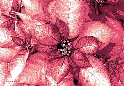Raspberry Digital Art - Raspberry Shimmer by DigiArt Diaries by Vicky B Fuller