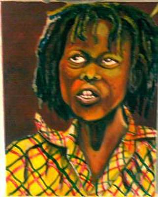 Andrew Johnson Painting - Rass Boy  by Andrew Johnson