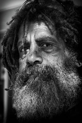 Photograph - Rasta Man by Michael Raiman