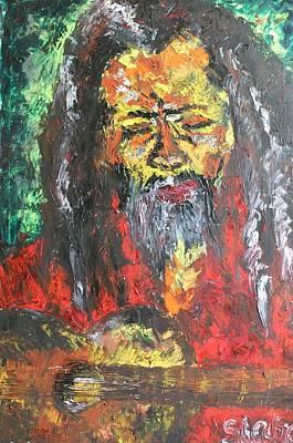 Rasta Man Art Print by Sladjana Lazarevic
