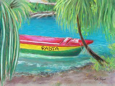 Pastel - Rasta Mon Sailin' Dis Way by Lyle Polyak