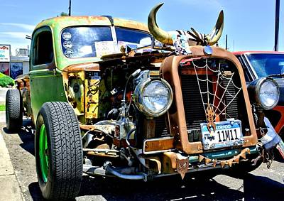 Photograph - Rat Rod by Amy McDaniel