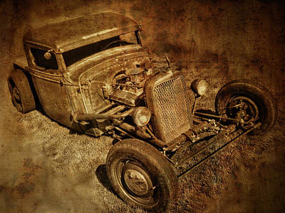 Photograph - Rat Rod by David King