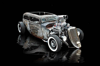 Rat Rod Digital Art - Rat Rod Extreme .... by Rat Rod Studios
