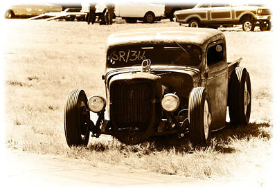 Photograph - Rat Rod Pickup Truck by Mike Martin