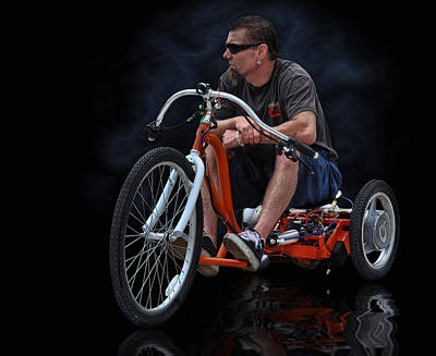 Rat Rod Digital Art - Rat Rod Trike .... by Rat Rod Studios