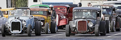 Photograph - Rat Rods Ready To Play by Wes and Dotty Weber