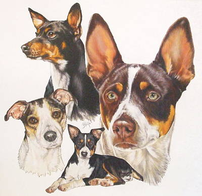 Rat Terrier Art Print