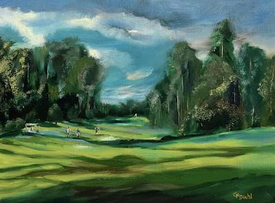 Painting - Rather Be Golfing by Grace Diehl