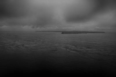 Photograph - Rathlin Island From Fair Head by Alex Leonard
