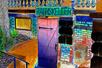 Spartan Painting - Rathskeller by David Lee Thompson