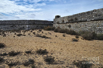 Ruins Photograph - Rato Fort Walls In Tavira by Angelo DeVal