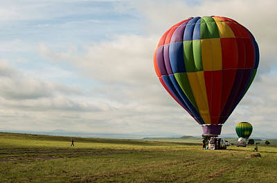 Photograph - Raton Balloon Festival by Stephen Holst