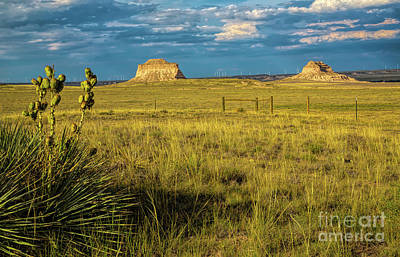 Photograph - Rattesnake Buttes Sunset by Jon Burch Photography