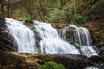 Photograph - Rattlesnake Falls by Debra and Dave Vanderlaan