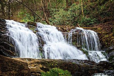 Photograph - Rattlesnake Falls by Debra and Dave Vanderlaan