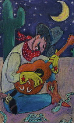 Painting - Rattlesnake Lullaby by Todd  Peterson