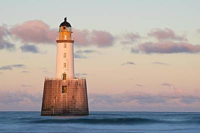 Photograph - Rattray Head Lighthouse Sunset by Stephen Taylor