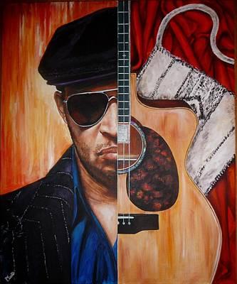 Painting - Raul Midon by Pascal Martos