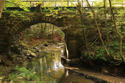 Rausch Gap Bridge Art Print