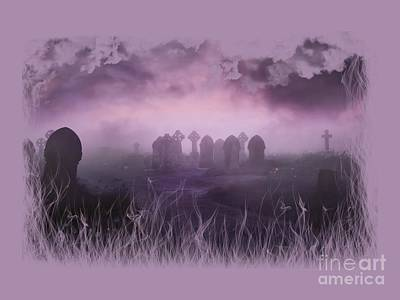 Photograph - Rave In The Grave On Transparent Background by Terri Waters
