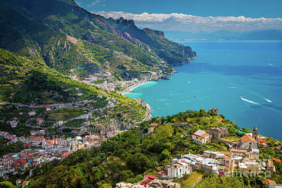 Ravello Photograph - Ravello Coast by Inge Johnsson
