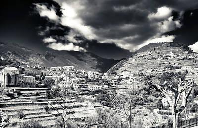 Photograph - Ravello Landscape by John Rizzuto
