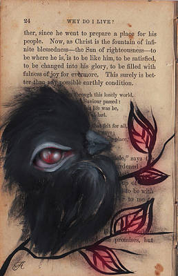 Painting - Raven -10 by Abril Andrade Griffith