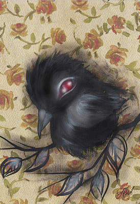 Painting - Raven -9 by Abril Andrade Griffith