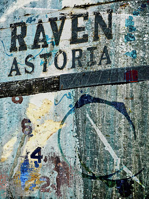 Mixed Media - Raven Astoria  by Carol Leigh
