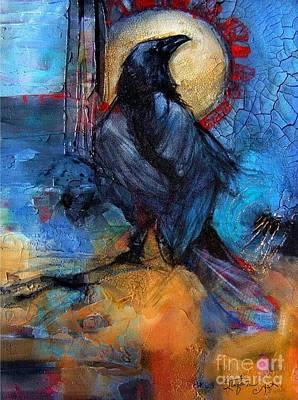 Digital Art - Raven Blue by Stefan Duncan