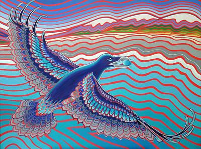 Raven Brings The Light Art Print by Karie Seven Eagles Garnier