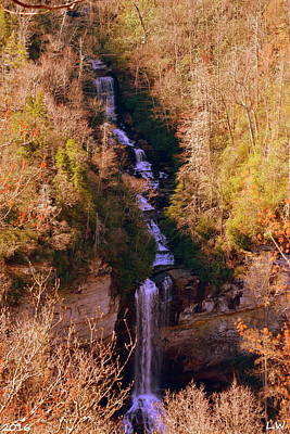 Caesars Head State Park Photograph - Raven Cliff Falls 2 by Lisa Wooten