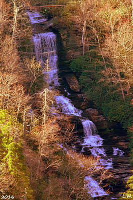 Caesars Head State Park Photograph - Raven Cliff Falls by Lisa Wooten