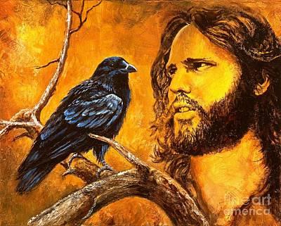Morrison Painting - Raven by Igor Postash