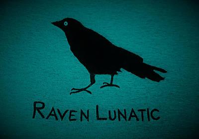 Photograph - Raven Lunatic Aquamarine by Rob Hans