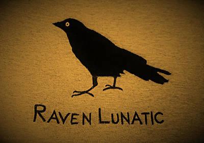 Photograph - Raven Lunatic Orange by Rob Hans