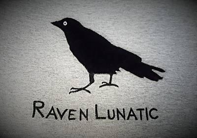 Photograph - Raven Lunatic by Rob Hans