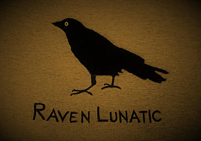 Photograph - Raven Lunatic Rust by Rob Hans