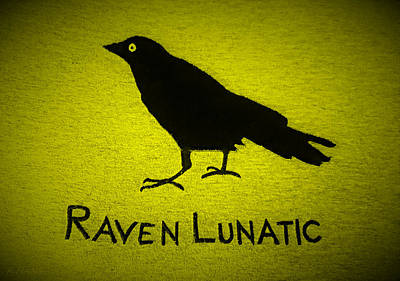 Photograph - Raven Lunatic Yellow by Rob Hans