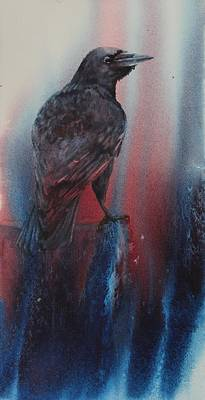 Painting - Raven by Ruth Kamenev