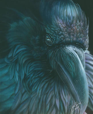 Painting - Raven by Wayne Pruse