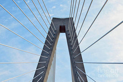 Photograph - Ravenel Bridge Charleston by Catherine Sherman