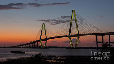 Photograph - Ravenel Bridge by ELDavis Photography